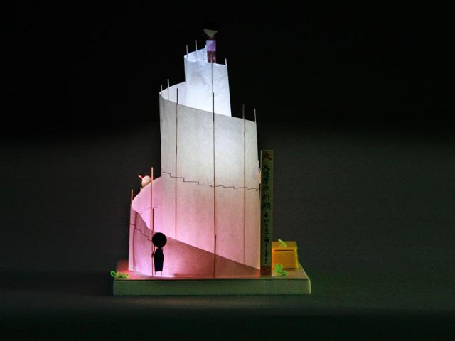 子供たち作品・LEDの灯籠