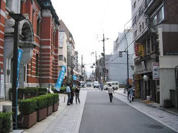 京都三条通りの様子