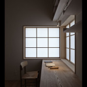 信楽の家 寝室