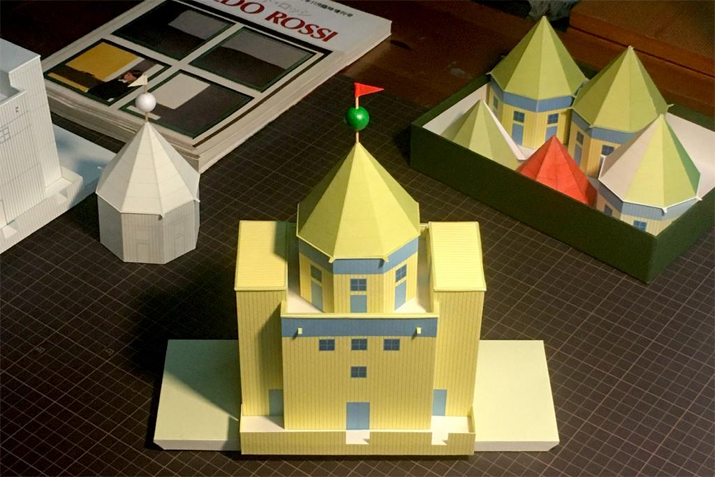 建築と子供たち