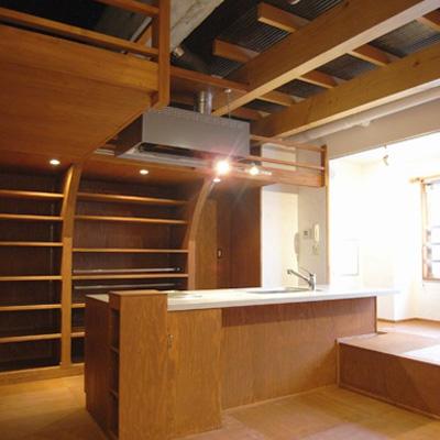 「S-HOUSE」interior
