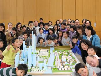 建築家と一緒にすまいとまちのジオラマを作ろう!Ⅱ